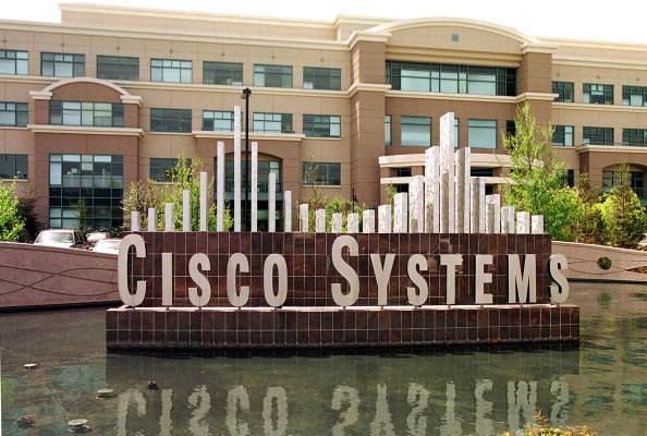 Перемены в курсах Cisco Systems