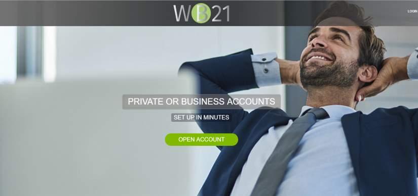 Цифровой банк WB21 предлагает российским клиентам оформить банковский счет онлайн за 8 минут
